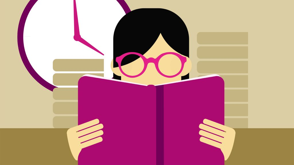 قراءة الكتب